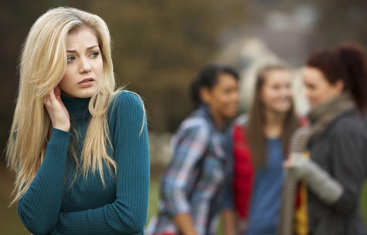 Девушка с социоофобией
