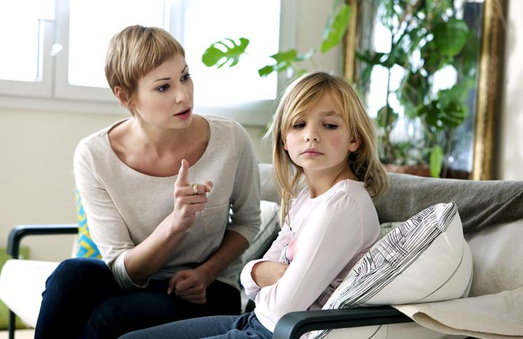 Спор мамы с дочкой
